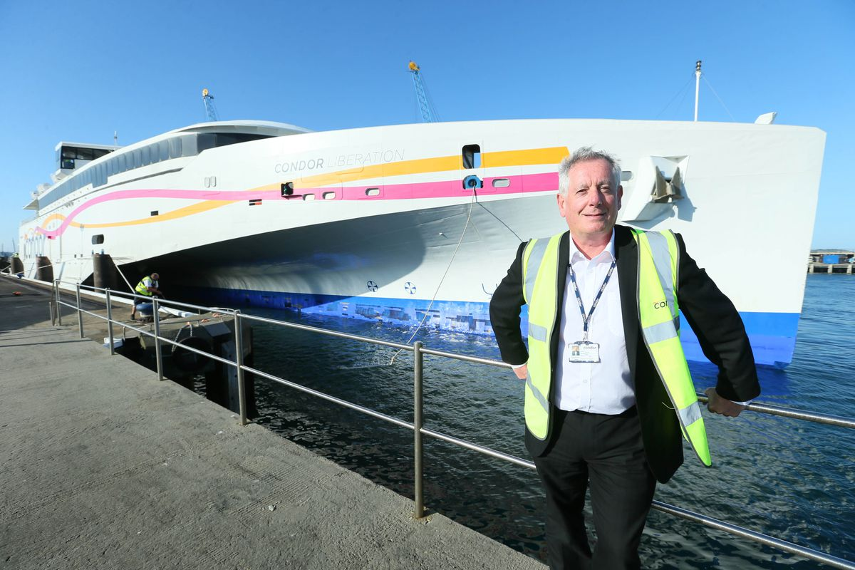Condor Ferries' CEO Paul Luxon is optimistic about travel to the Channel Islands this summer. (Picture by Adrian Miller, 29266031)