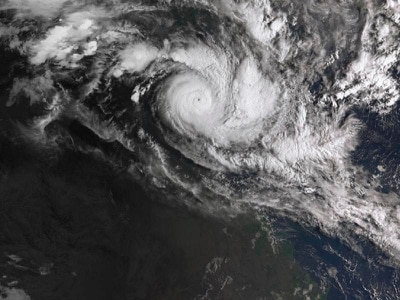 Australia moving 2,000 people from powerful cyclone's path