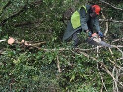 Huge recovery operation under way in aftermath of Ophelia