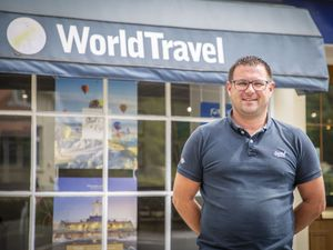 World Travel's Jamie Blondel. (Picture by Sophie Rabey, 29538835)