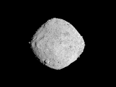 Nasa craft shows tiny asteroid studded with boulders