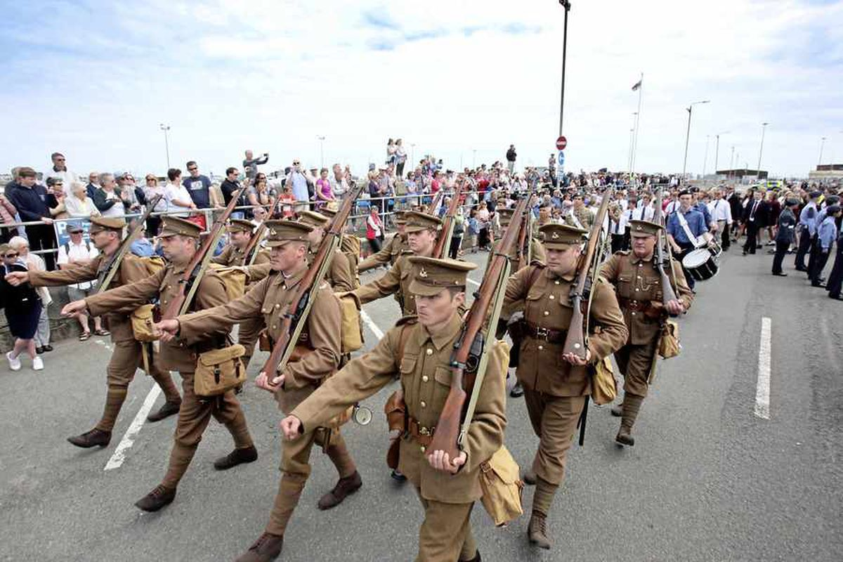 RGLI remembrance parade in pictures