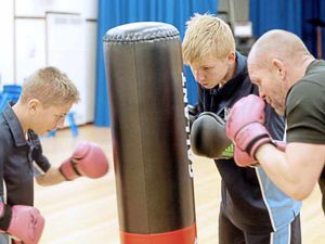 Boxing training part of big picture