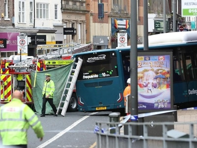 Bus driver tried over death 'stepped on accelerator instead of brake pedal'