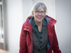Picture By Peter Frankland. 15-12-20 States members arriving at The Royal Court. Yvonne Burford. (29159889)