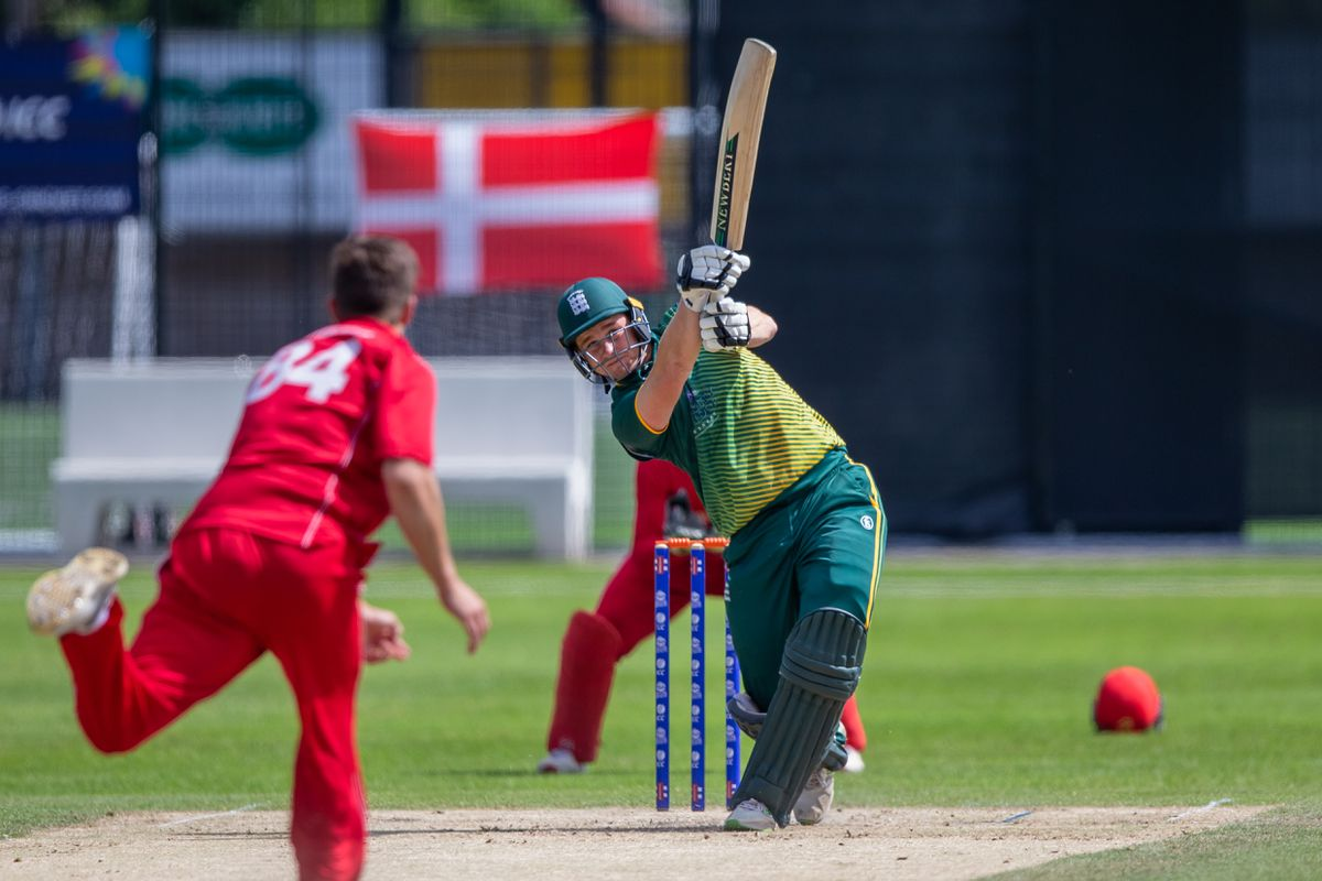 Guernsey T20 captain Josh Butler is pleased to have matches against the Isle of Man to look forward to. (Picture by Martin Gray, 28490530)