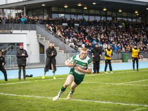 Picture by Sophie Rabey.  11-01-20.  Rugby action at Footes Lane.  Guernsey Raiders vs Rochford Hundred.. (27610159)