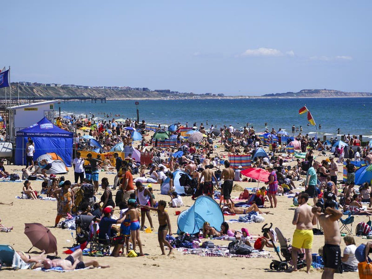 UK set to bask in hottest day of the year over weekend as Euro 2020 kicks off