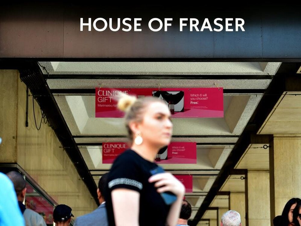 House of fraser swings to mammoth loss as crisis deepens for Quality classic house of fraser