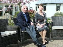 Les Bourgs Hospice chairman steps down