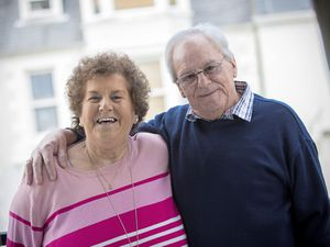 Colin and Janet Le Marquand are celebrating their golden wedding anniversary. (Picture By Peter Frankland, 24360371)