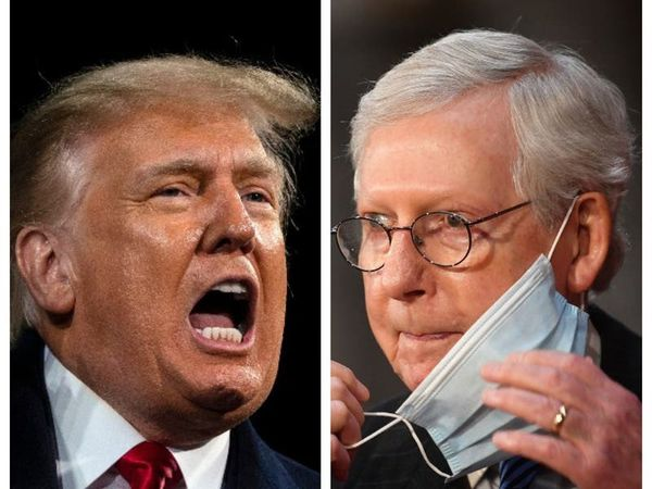 Trump 'fed lies' to mob about Biden's election win, says McConnell