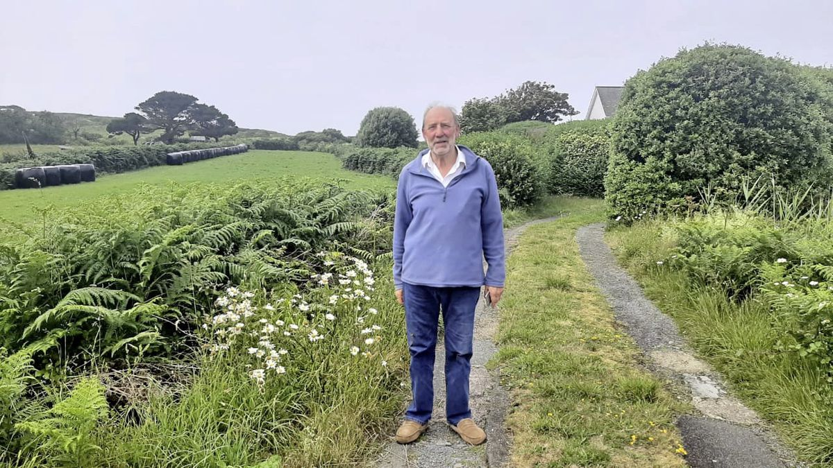 Chouet resident Chris Hawdon. (Picture by Emily Hubert, 29708589)