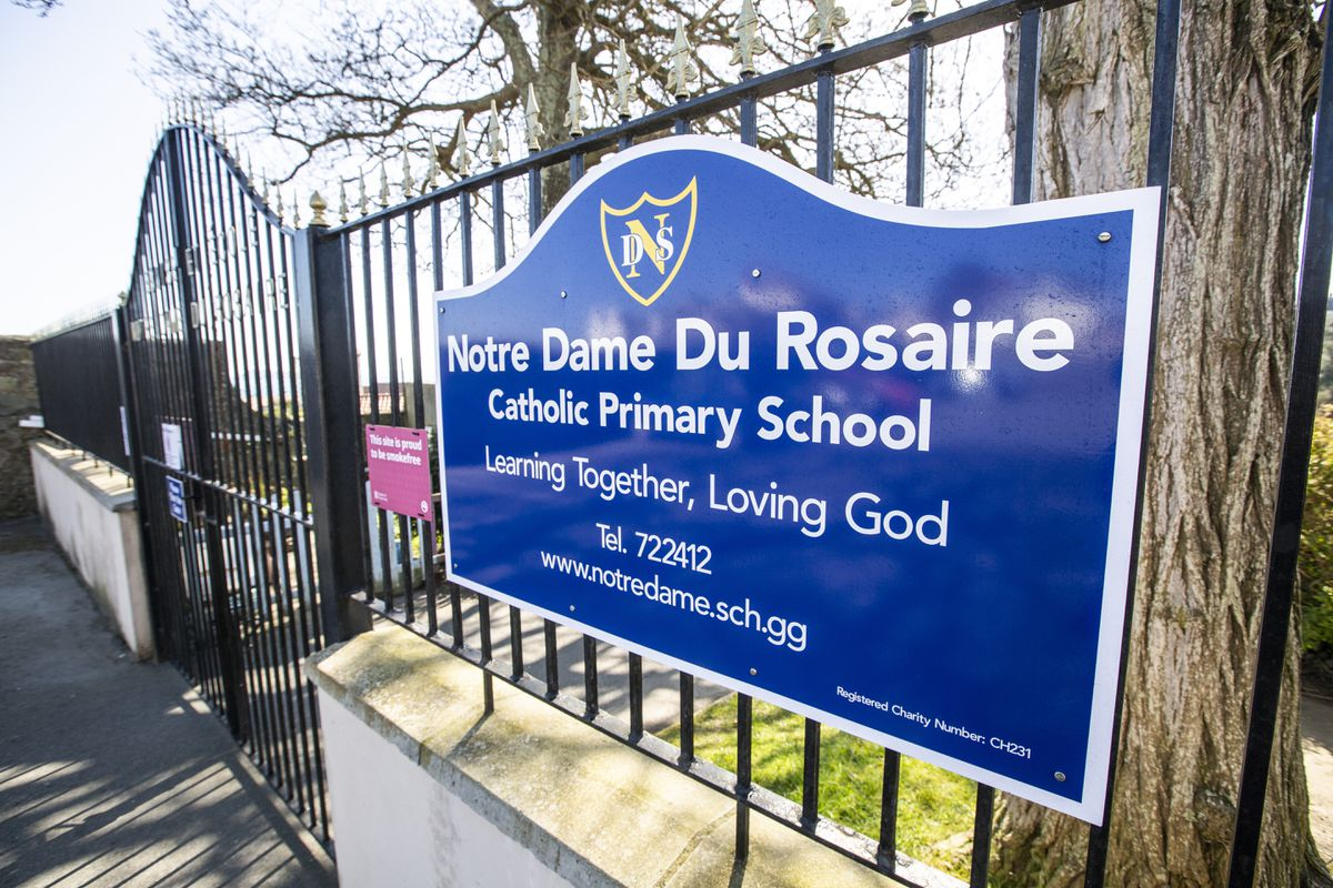 Picture by Sophie Rabey.  04-04-20.  Generic Picture of Primary Schools.  GPweb.  Notre Dame Primary School. (29786771)