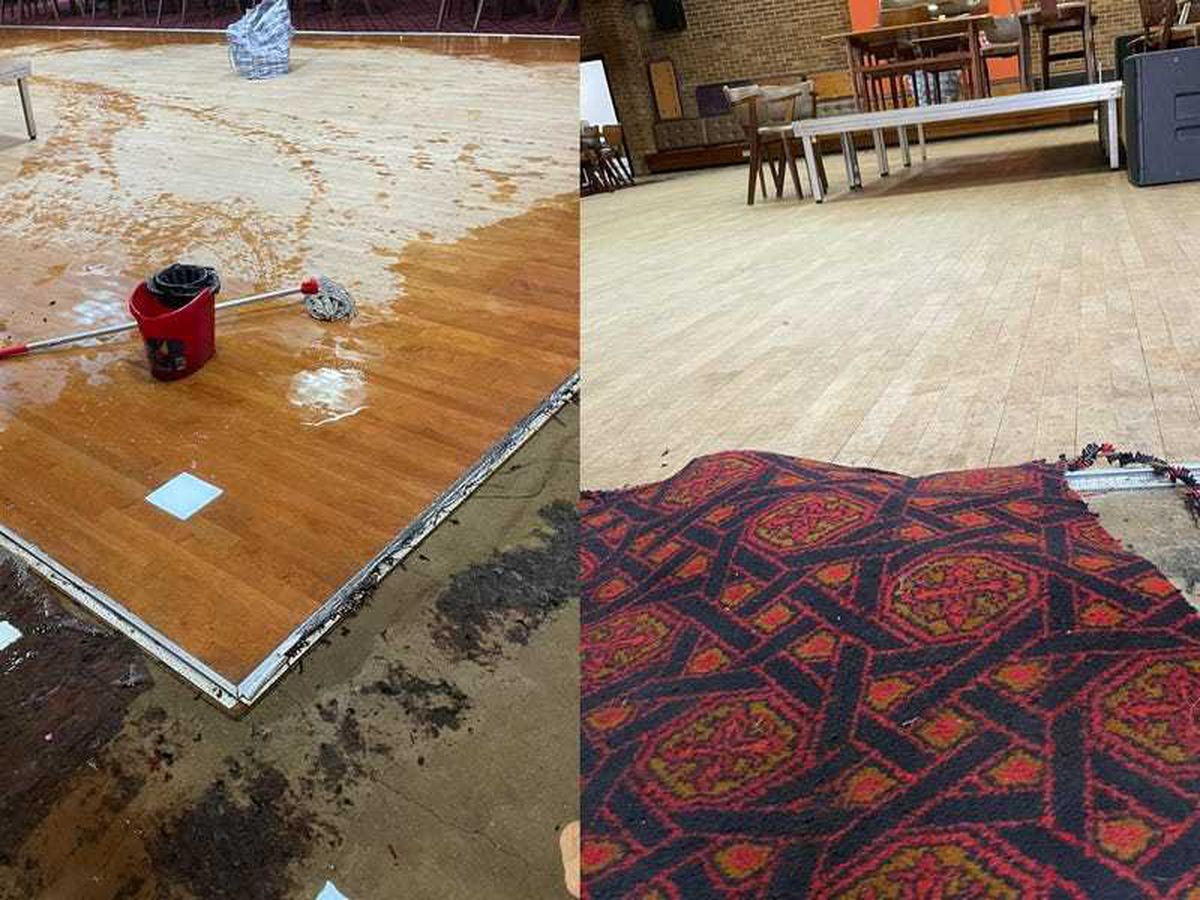 Community turns out to save social club's flooded dancefloor
