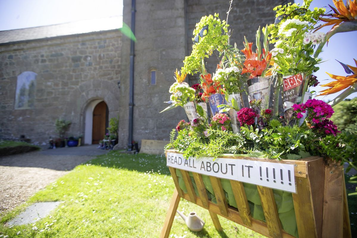 The St Saviour's church flower festival runs from 10 to 13 June. This year's theme is 'Read all about it' (Picture by Peter Frankland, 29636295)