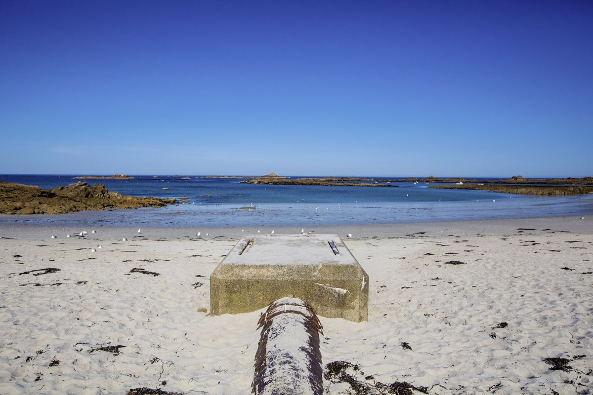 Cobo outfall pipe. (28686290)