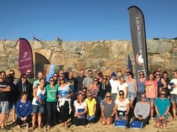 Herm swims make more than £21,000 for two charities