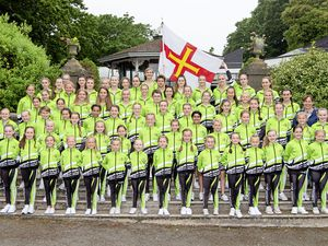 Pic supplied by Andrew Le Poidevin: 17-06-2018 The Guernsey teams travelling to Sitges, Spain for the Dance World Cup. (21751575)