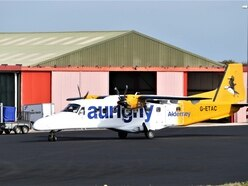 £5m. to be set aside in case Aurigny exits from Alderney routes