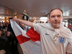 England fans' delight at 6-1 victory