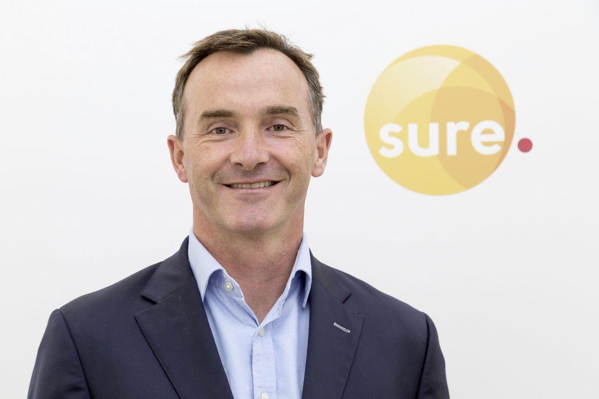Alistair Beak has been named acting group CEO of Sure. (29303308)