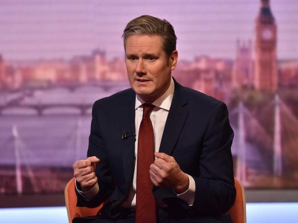 UK opposition Labour's Starmer: Johnson should have sent one letter to EU