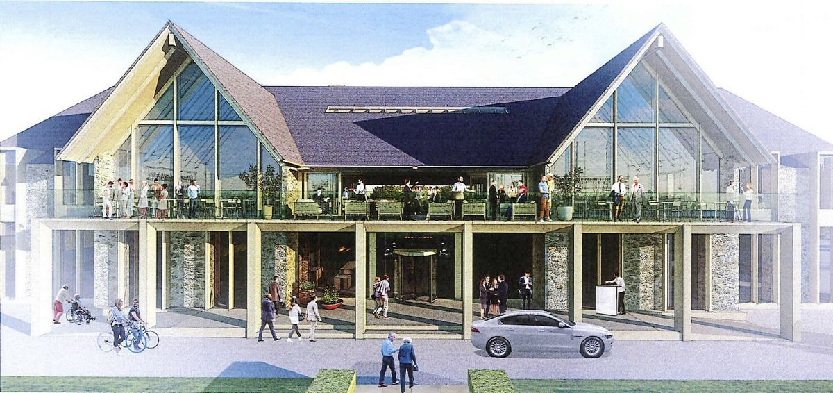 Artist impressions of the redevelopment of La Grande Mare .Supplied by Stephen Lansdown / Pula 28-07-20. (28517353)