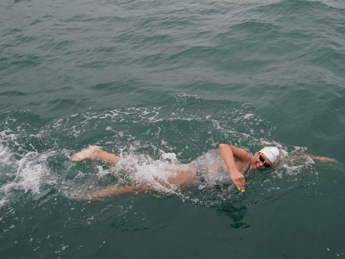 Endurance swimmer attempts to make history with 44th English Channel crossing