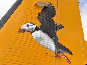Picture supplied by David Nash. Dornier arrives in Alderney...Generic Dornier Alderney. (25323223)