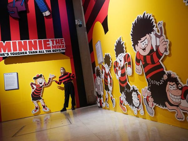 Curator of new Beano exhibit: There is still 'joy in the rebellion' of the comic