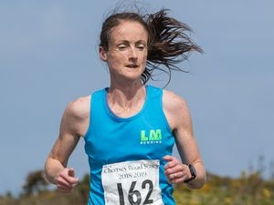 Jenny James clocked an excellent 17-09 for 5km on Saturday. (Picture by Martin Gray, www.guernseysportphotography.com, 27885060)