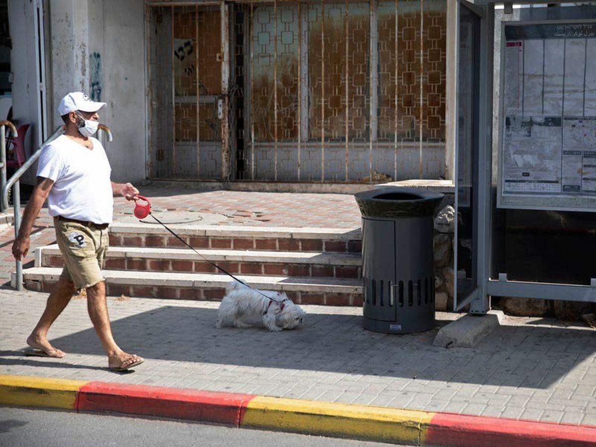 Trash talking: A bin in Jerusalem thanks you for not littering