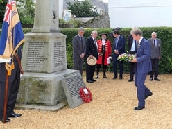 VJ Day 75 marked by ceremony in Alderney