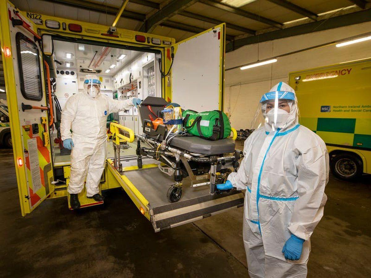 Ambulance workers fearful amid pandemic hospital surge