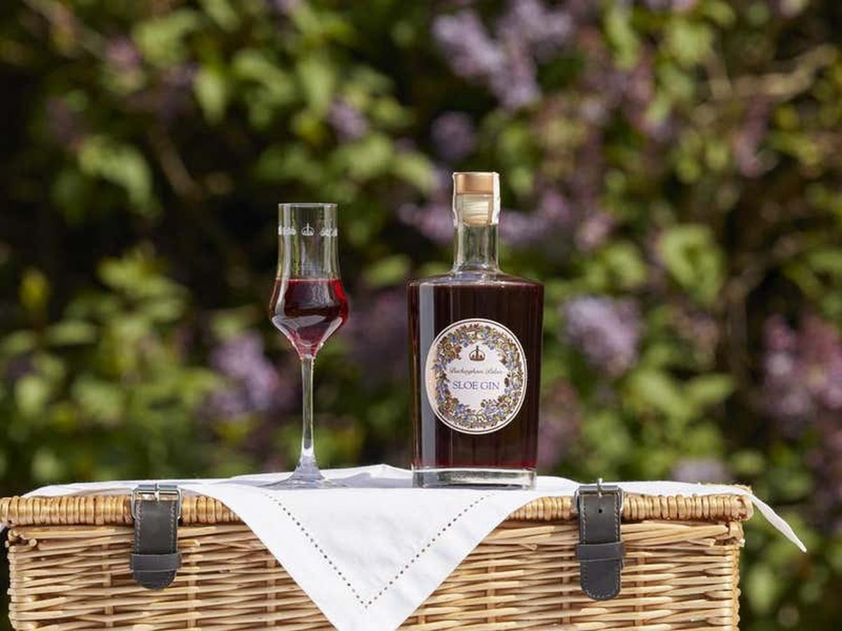 Official Buckingham Palace sloe gin goes on sale