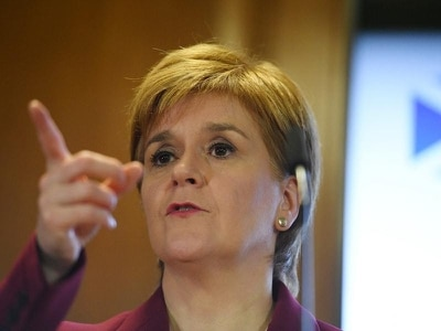 SNP holding balance of power after election best for Scotland, Sturgeon says