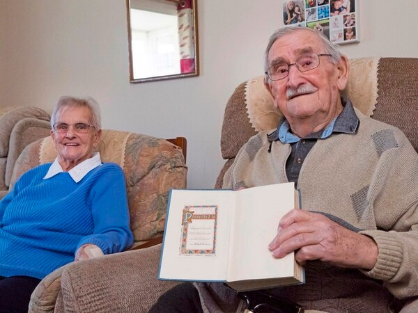 93-year-old's Sunday school prize returned