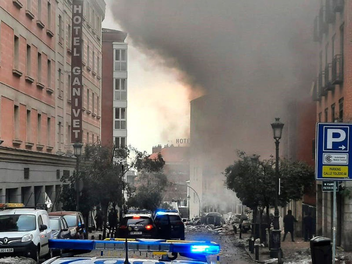 Two killed in Madrid blast after apparent gas leak