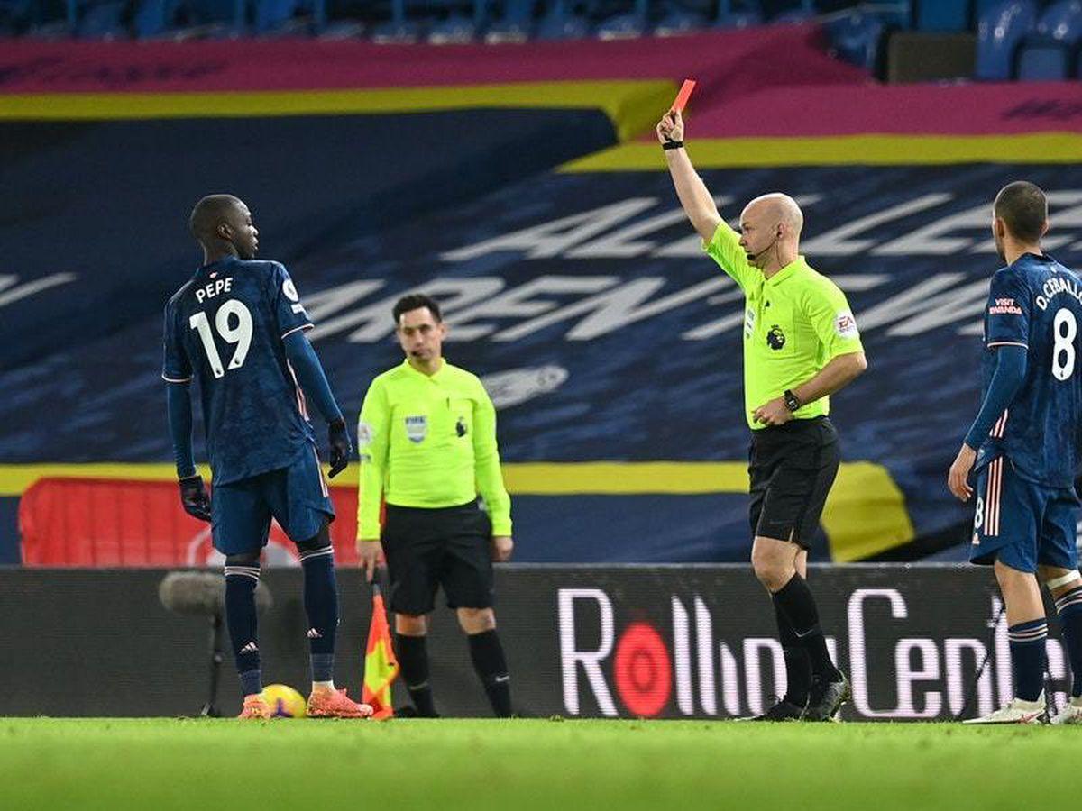 Nicolas Pepe's behaviour 'unacceptable' in Leeds stalemate – Mikel Arteta
