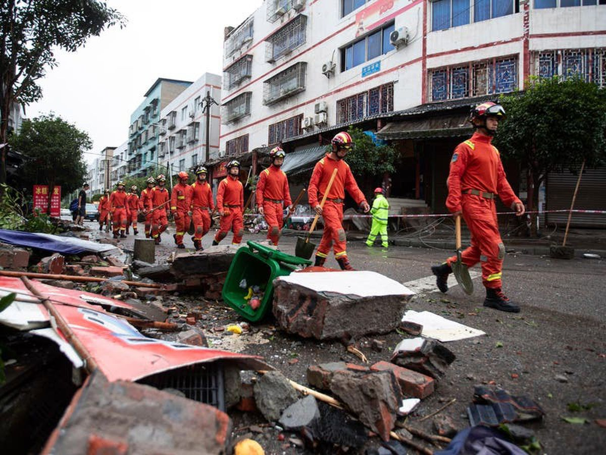 Three dead and dozens injured in earthquake in southwest China