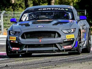 Out of single-seaters into GTs: The Ford Mustang GT4 Seb Priaulx will race in 2019. (23348018)
