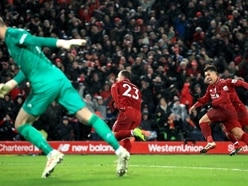 Shaqiri at the double as Liverpool ease past poor United