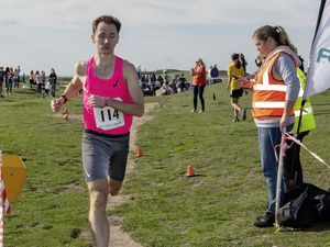 Pic supplied by Andrew Le Poidevin: 16-10-2021. The 2021 FNB Stonecrusher cross country run at L'Ancresse. (30095516)