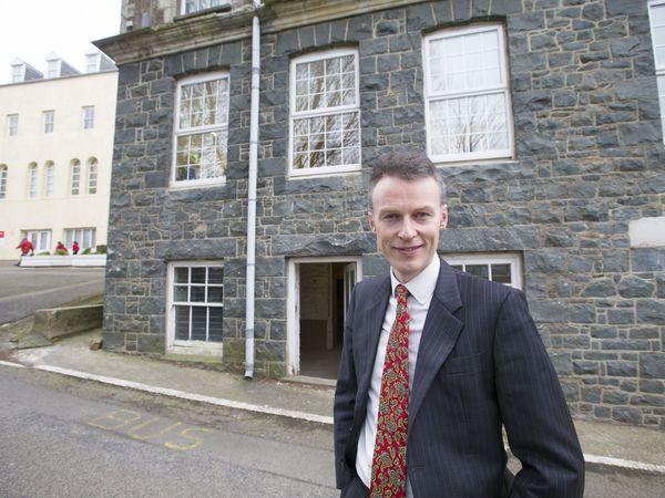 Blanchelande College principal Robert O'Brien. (29159994)