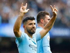 Sergio Aguero's silver hair has fans expecting a derby day hat-trick