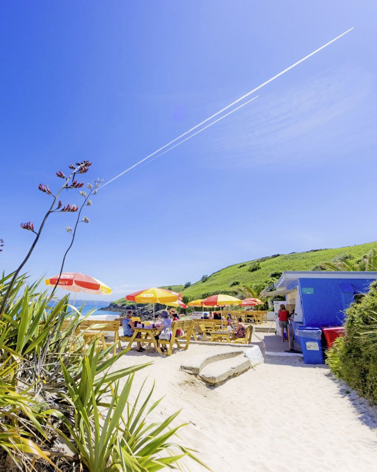 The cafe at Shell Beach obtained a liquor licence this year, which has been reported as a success story. (Picture by Ben Fiore Photography)