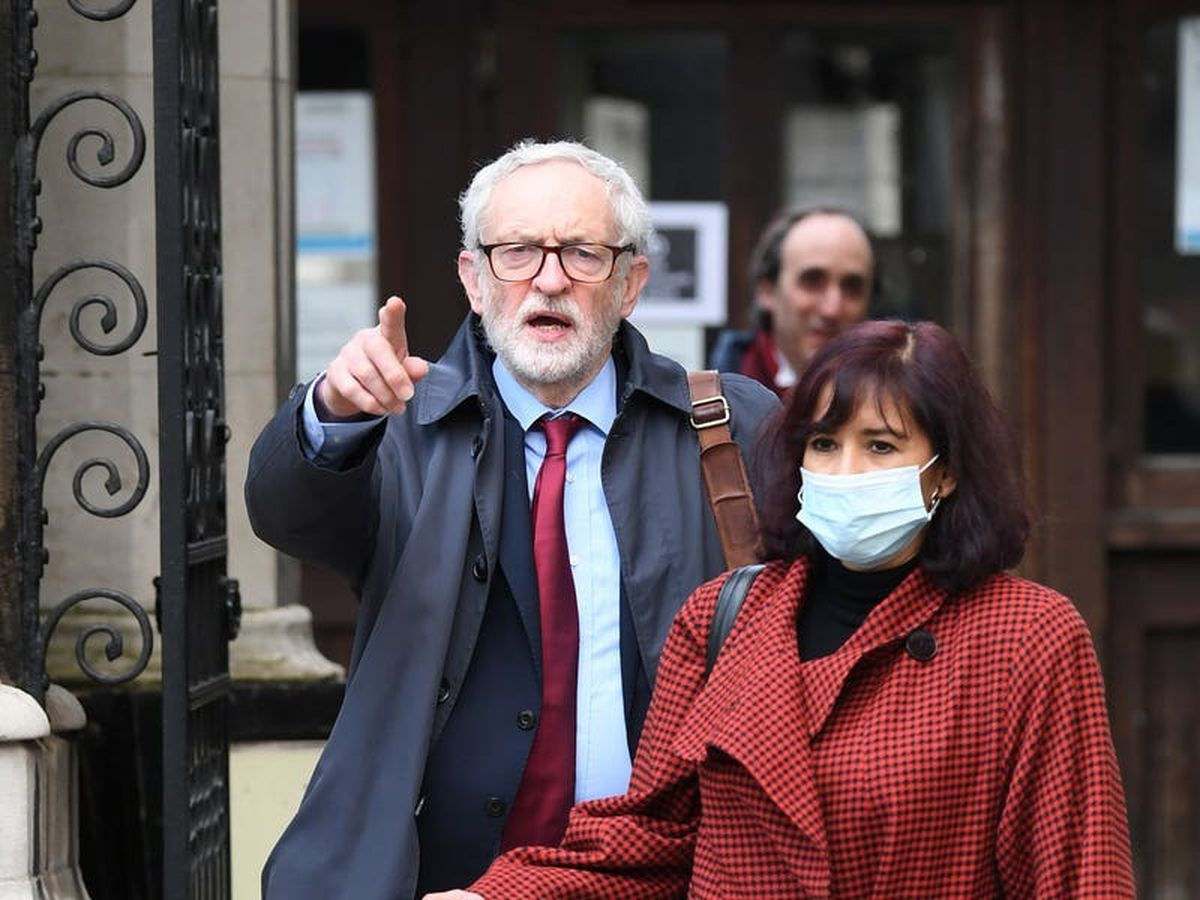 Jeremy Corbyn waits for ruling on latest round of court fight with blogger