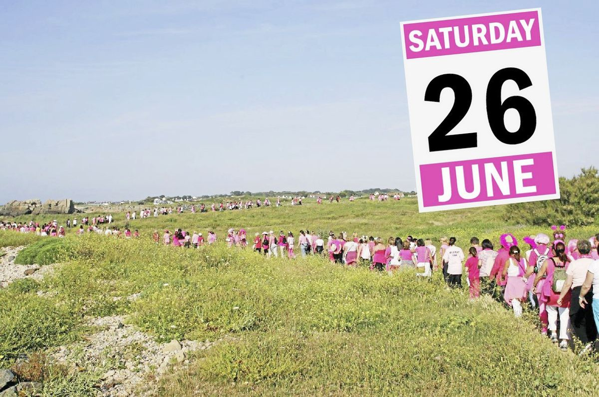 Save the date: The Pink Ladies Sunset Coastal Walk returns on Saturday 26 June.