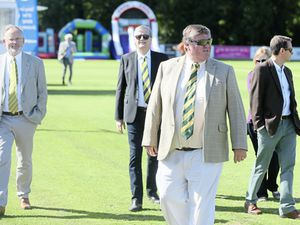 A big man with a big cricket heart: Outgoing GCB president Dave Nussbaumer. 